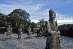 Hue Royal tombs - Cruise on Perfumer river - Fly to Hanoi