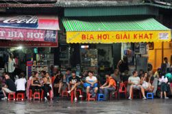 Hanoi street food tour.