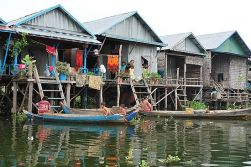 Tonle Sap Lake - Departure.